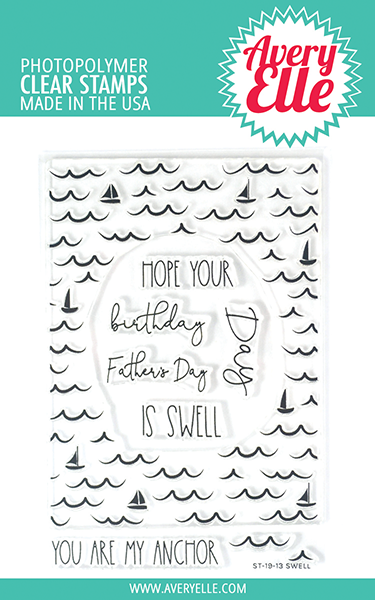 Avery Elle Swell Clear Stamps