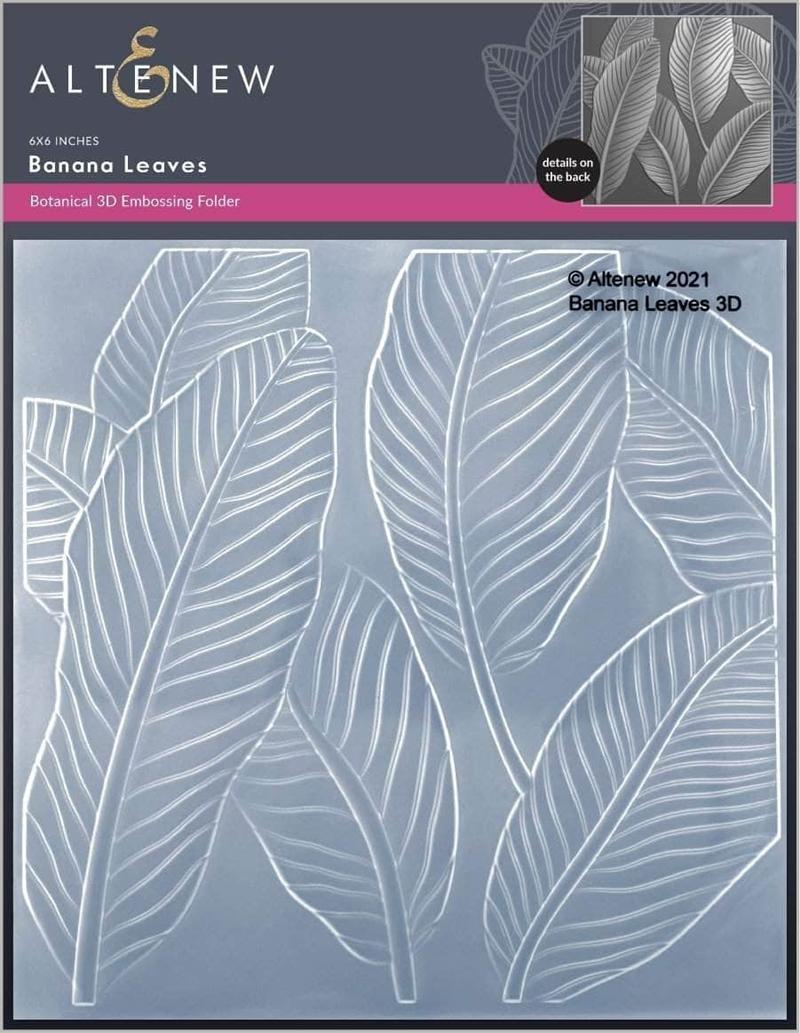 Banana Leaves Embossing Folder