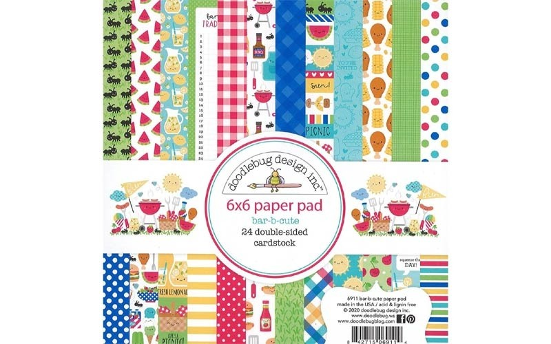 Bar-b-cute Paper Pad