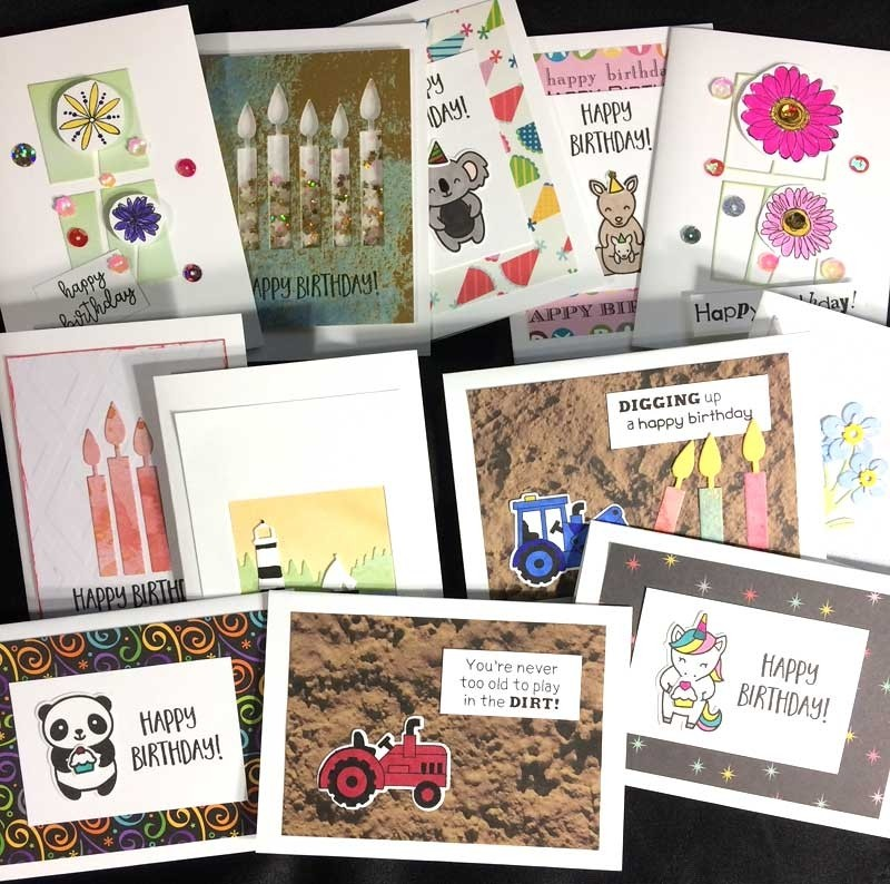 Quick and Easy Birthday Cards Kit