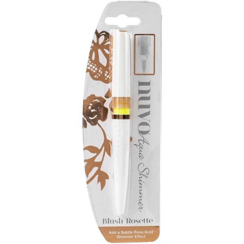 Nuvo Aqua Shimmer Pen - Blush Rosette