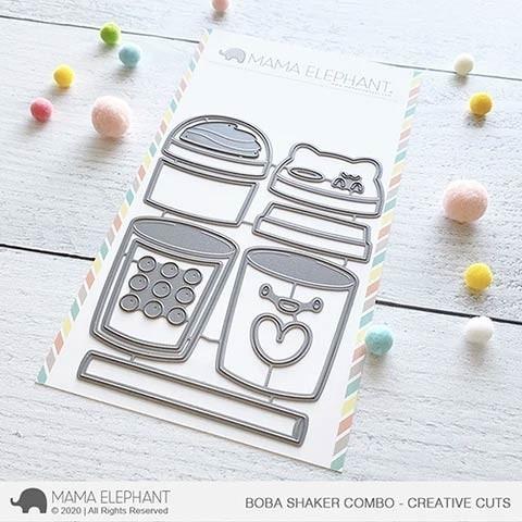Mama Elephant Boba Shaker Combo - Creative Cut