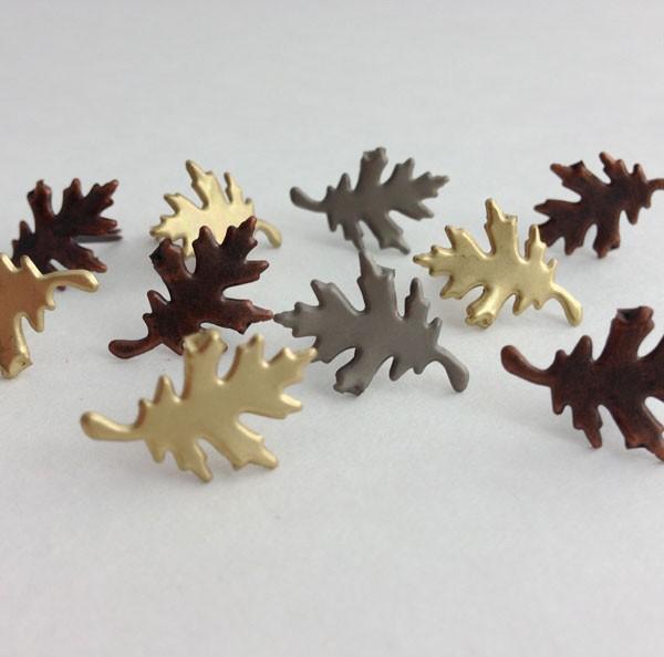 Oak Leaf Brads