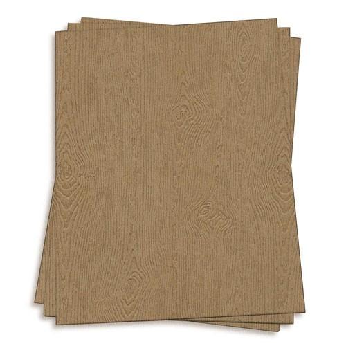 Woodgrain Cardstock
