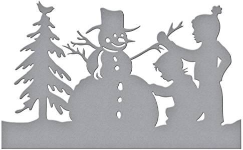 Spellbinders Building Snowman Die