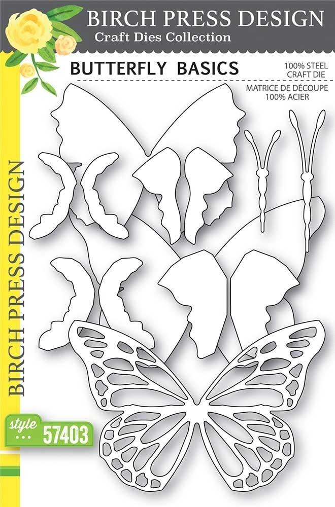 Birch Press Butterfly Basics craft die 57403