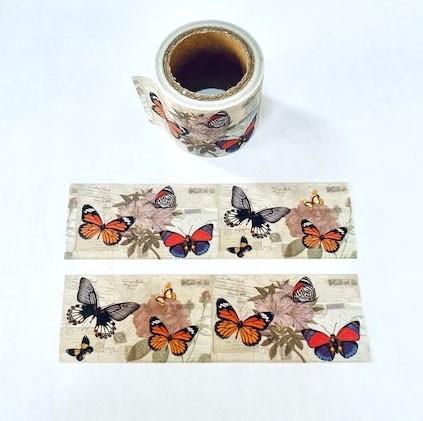 Wide Butterfly Washi Tape