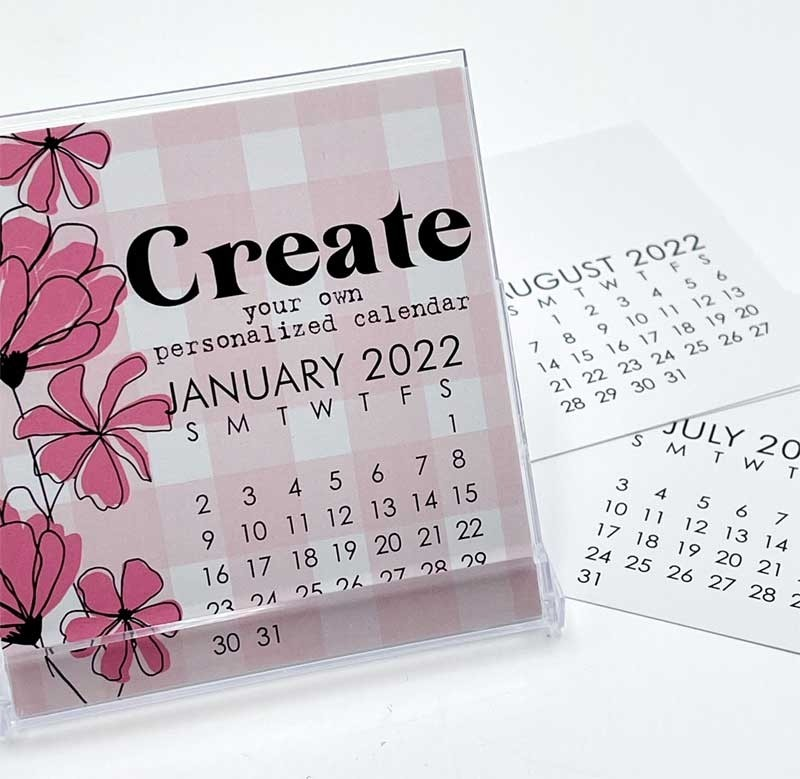 Impress Small 2022 DIY Calendar