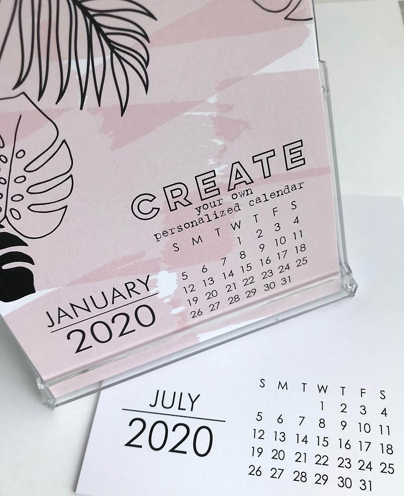 Large Impress 2020 DIY Calendar