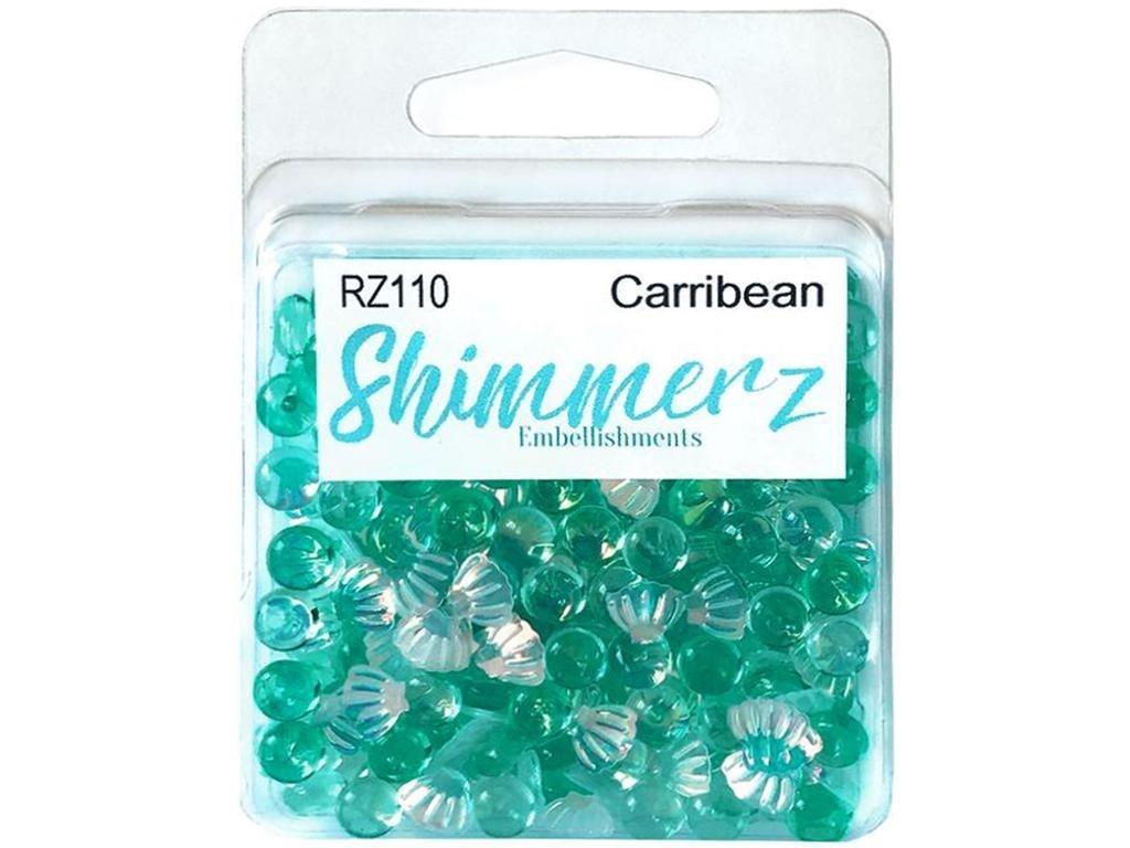 Carribean Shimmerz Embellishments