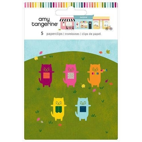 Amy Tangerine A Slice of Life Cat Paper Clips