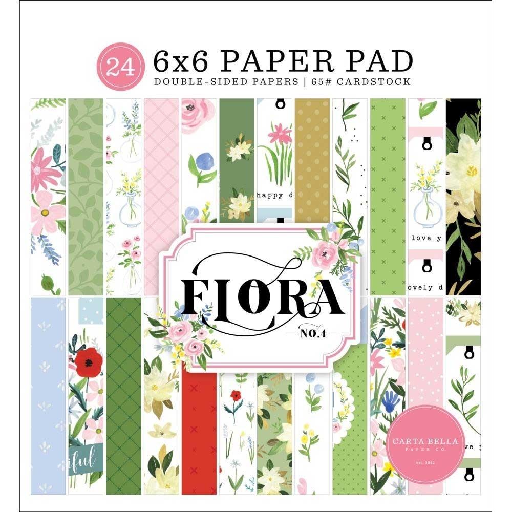 Carta Belle Flora no 4
