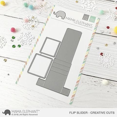 Mama Elephant Flip Slider - Creative Cuts