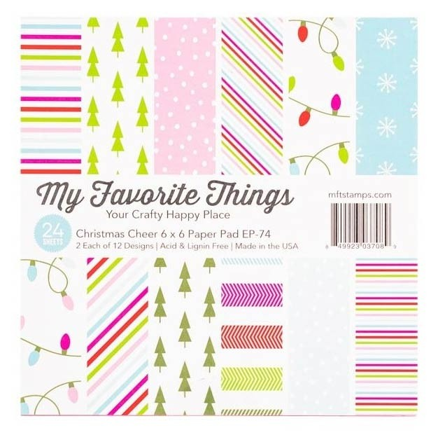 My Favorite Things Christmas Cheer 6x6