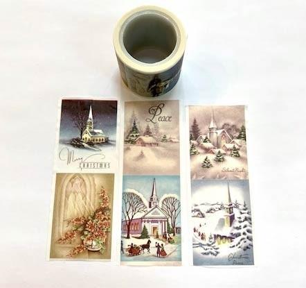 Christmas Snow Washi Tape