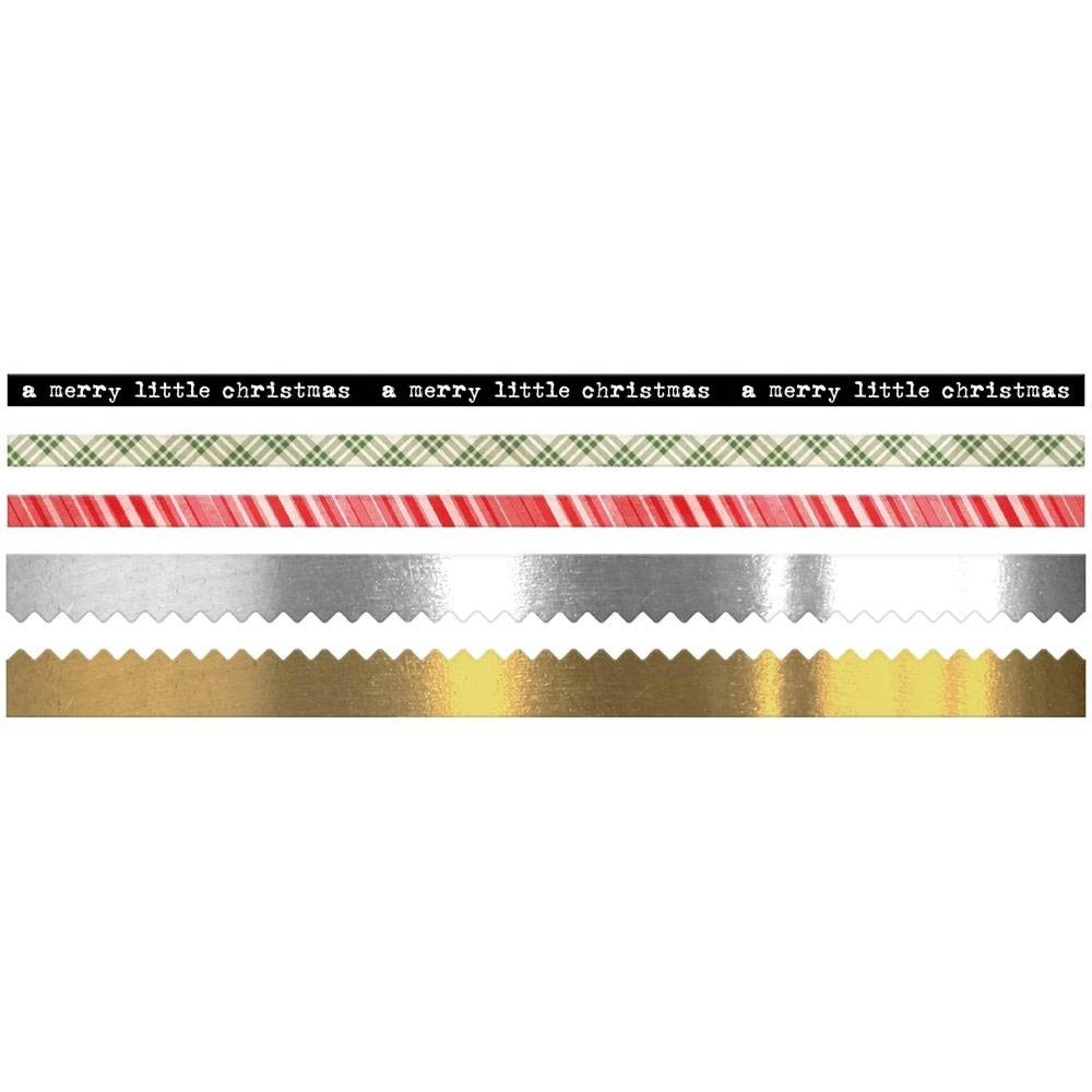 Tim Holtz Idea-ology Trim Tape Christmas