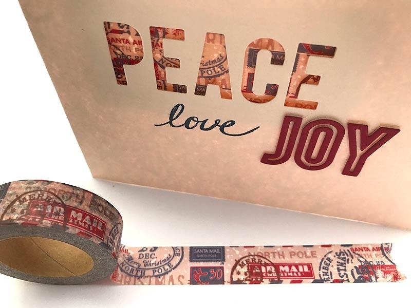 Christmas Mail Washi Tape