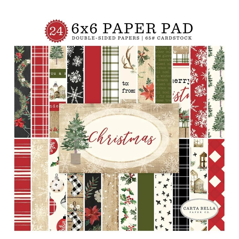 Carta Bella Christmas Paper Pack