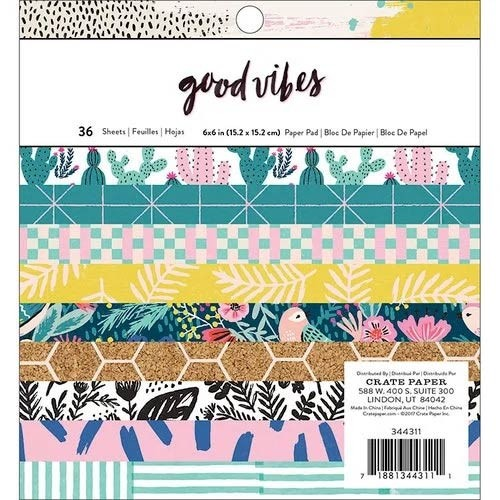 Crate Paper Good Vibes Paper Pad