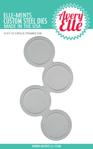 Avery Elle Circle Frames Elle-ments