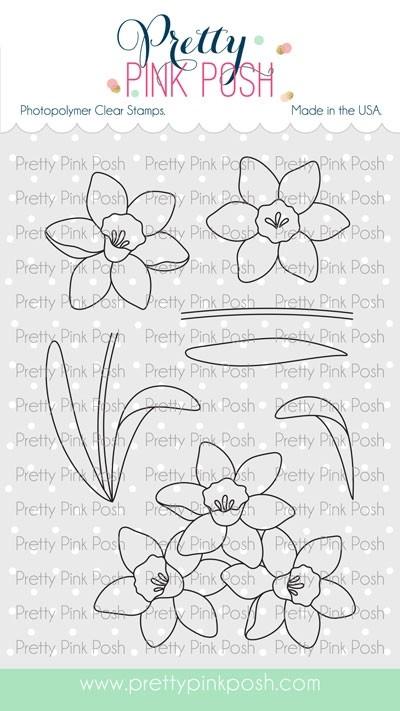 Pretty Pink Posh Daffodils Stamp Set