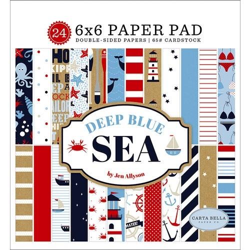 Carta Bella Deep Blue Sea Paper Pad