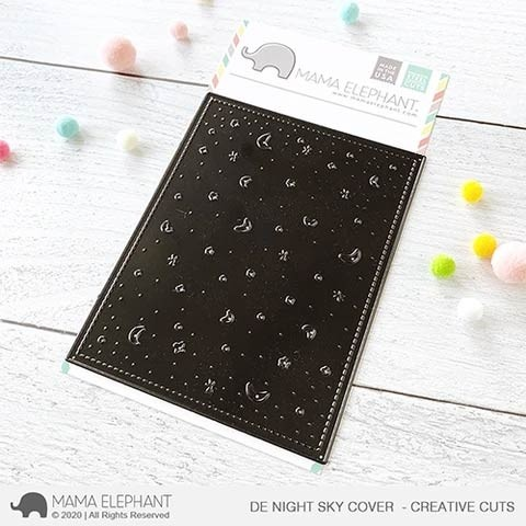Mama Elephant DE Night Sky Cover - Creative Cuts