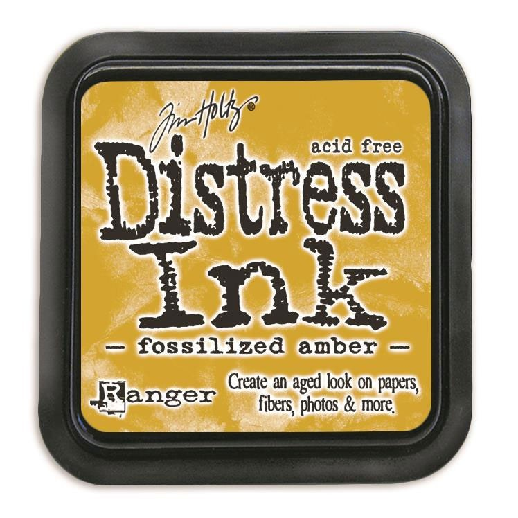Fossilized Amber Distress Ink