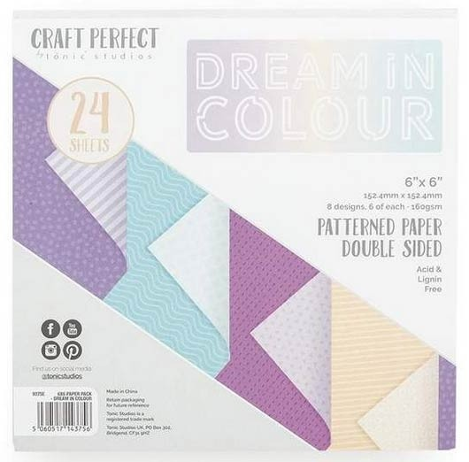 Dream in Color 6x6 Paper Pack