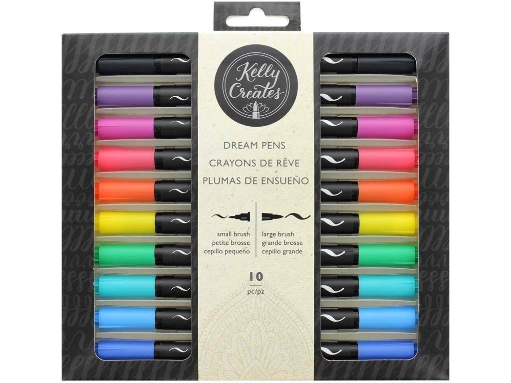 Kelly Creates Pen Dual Tip 10pc Dream Rainbow