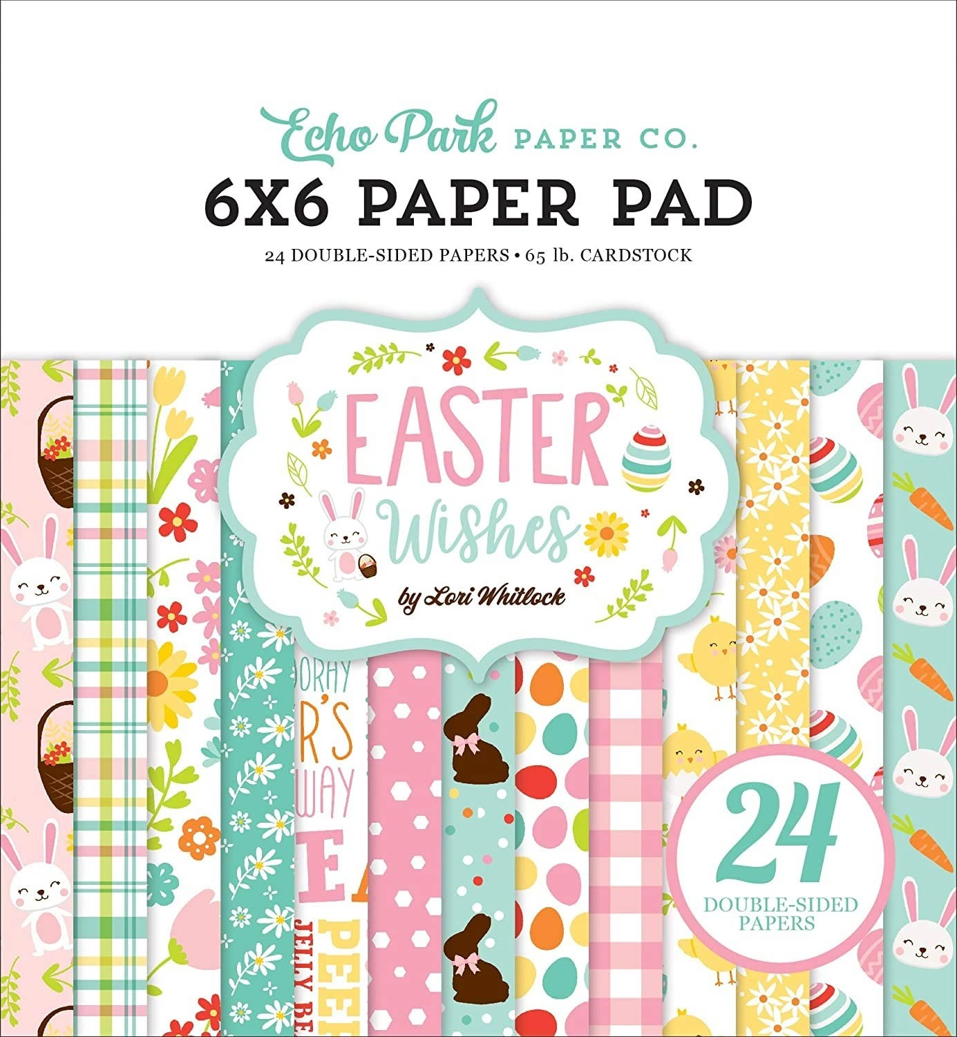 Easter Wishes Paper 6x6 Pack