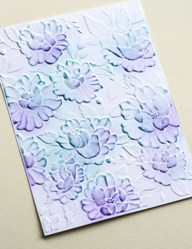 Blooming Embossing Folder