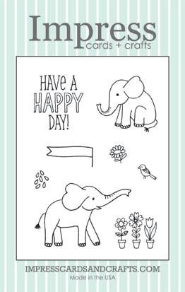 Impress Elephants Clear Set