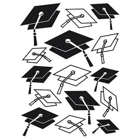 Graduation Embossing Folder