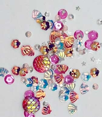 Enchanged Sea Embellishments