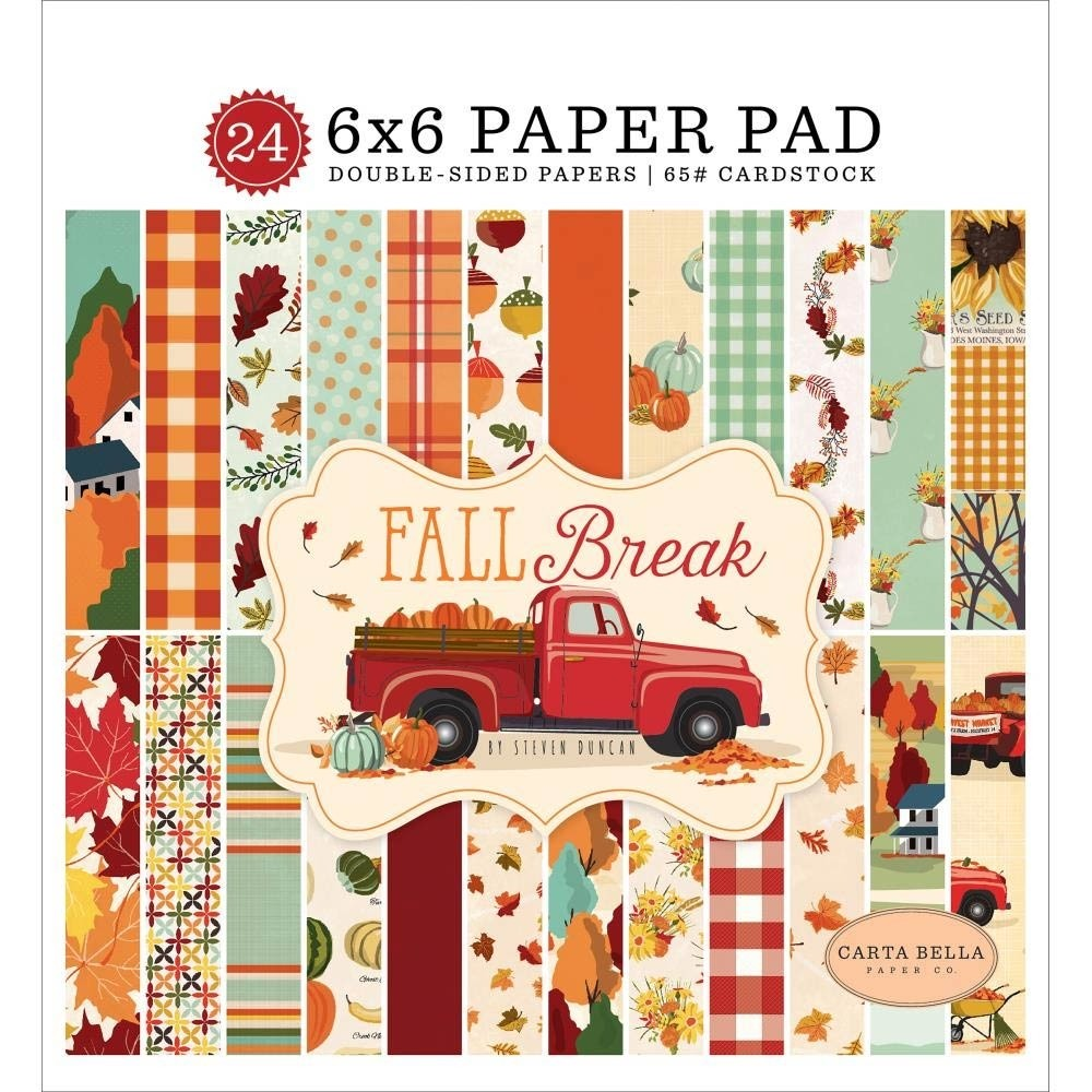 Carta Bella Fall Break 6x6 Paper Pack