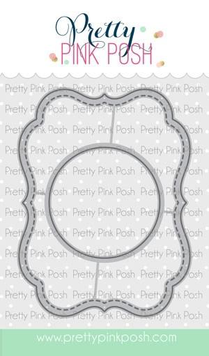 Pretty Pink Posh Fall Circles Dies