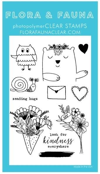 Flora and Fauna Animal Sending Love Set 20288