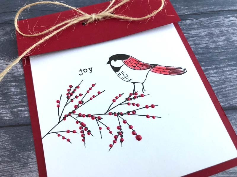 Flora and Fauna Mini Aviary Clear Stamp Set 20202