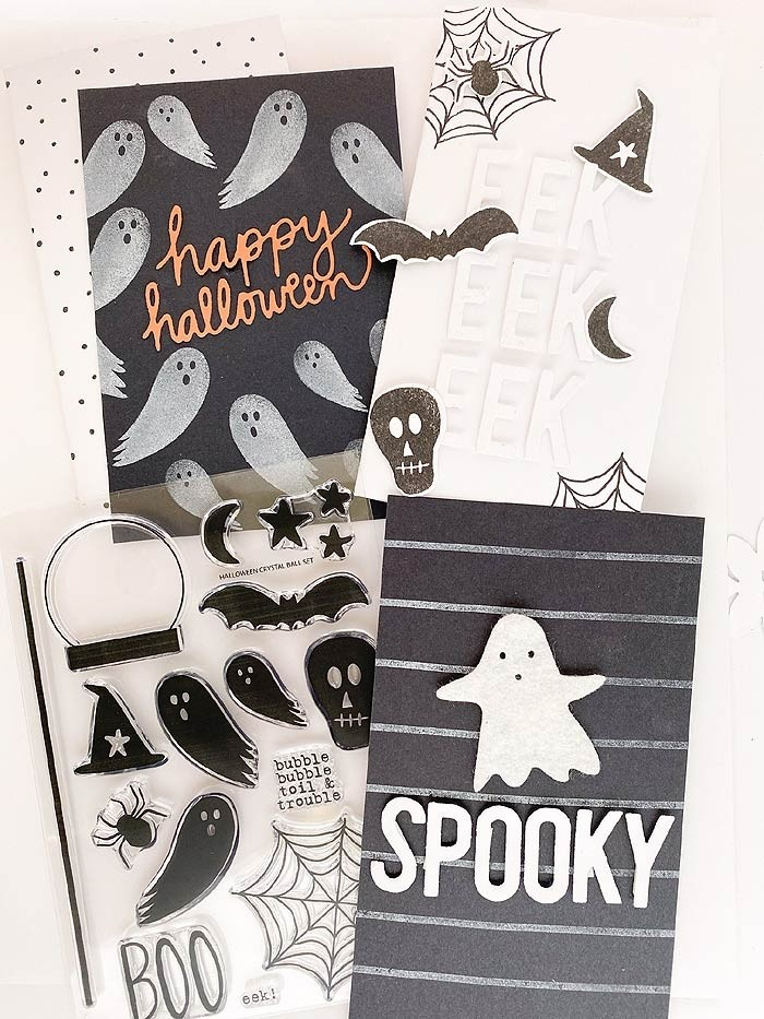 Flora and Fauna Clean and Simple Halloween Class Kit