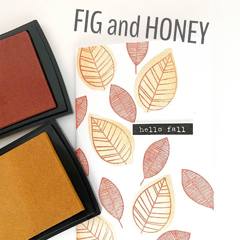 Fig and Honey Fresh Ink