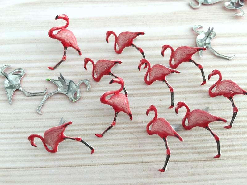 Flamingo Brads