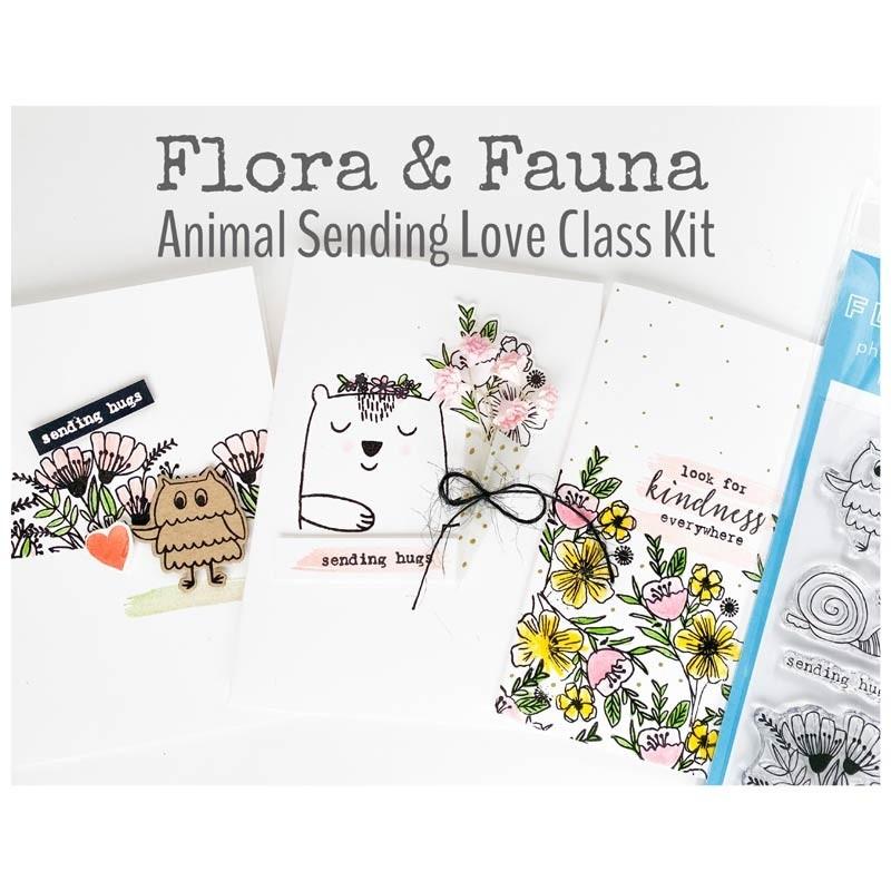 CLASS KIT - Flora and Fauna Animal Sending Love