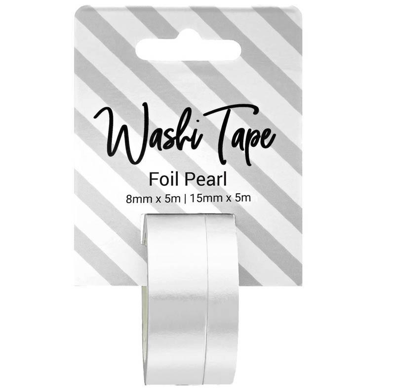 Foil Pearl Washi Tape