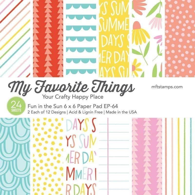My Favorite Things - Fun in the Sun 6x6 Paper Pack