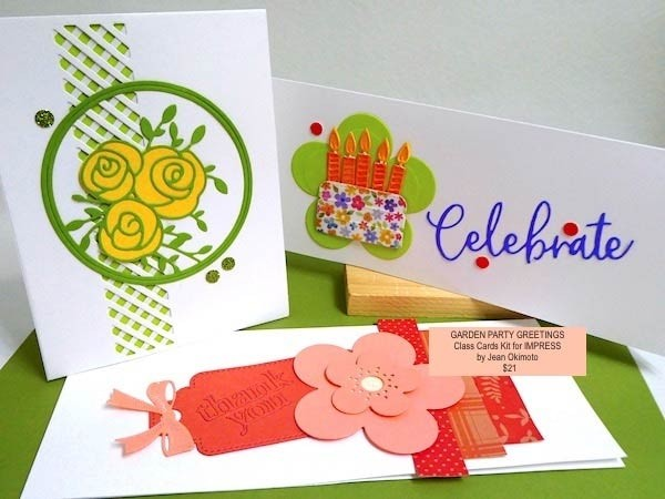 Garden Party Greetings class kit