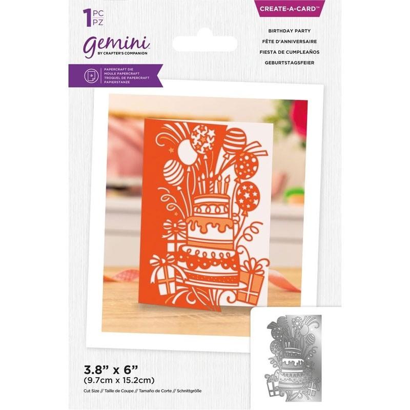 BDAY PARTY-GEMINI CREATE-A-CARD