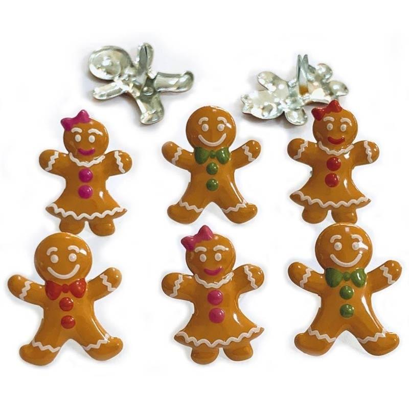 Gingerbread Brads