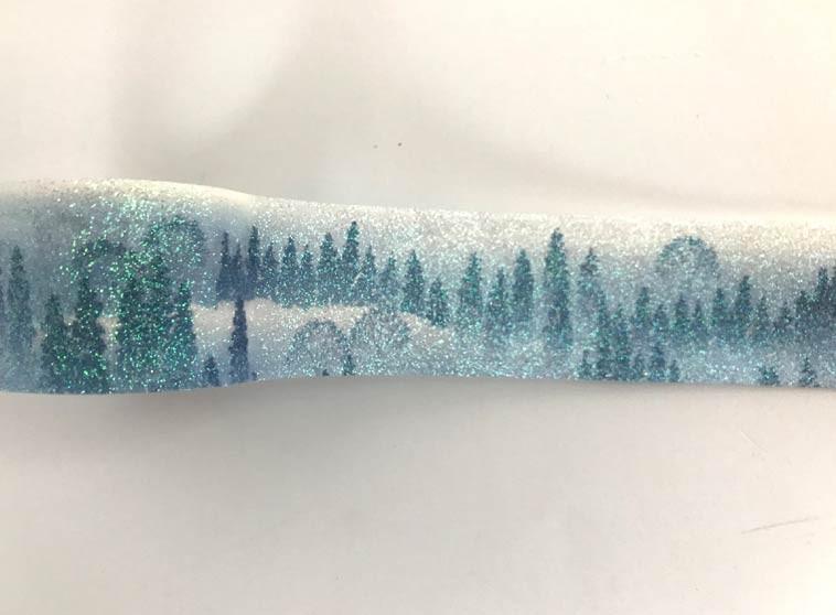 Glittered Scene Washi Tape