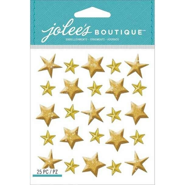 Jolee's Gold Stars Repeat